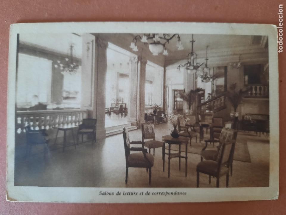 `POSTAL-AÑOS 10/20-SALONS DE LECTURE ET DE CORRESPONDANCE - SPLENDIDE HOTEL- MARSEILLE/FRANCIA - (Postales - Postales Extranjero - Europa)