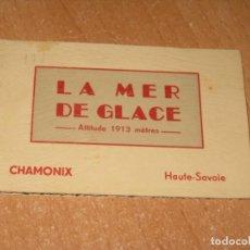 Postales: BLOCK DE POSTALES DE LA MER DE GLACE. Lote 222197608