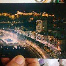 Postales: POSTAL PRINCIPADO DE MÓNACO LA COTE D'AZUR FRANKCOLOR. Lote 222200081
