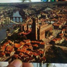 Postales: POSTAL ALBI VI DU CIEL LA BASILIQUE SAINTS CECILE S XIII. Lote 222201148