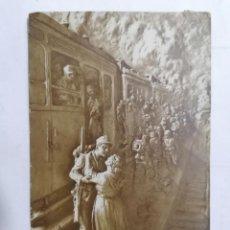 Postales: POSTAL SALUDO A LA MADRE, CIRCULADA, AÑO 1916. Lote 222353522
