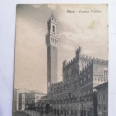 Postales: POSTAL SIENA, CIRCULADA, AÑO 1928. Lote 222353693