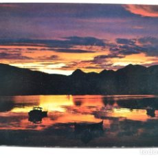 Postales: POSTAL. F-4263-9. NORWAY. THE MIDNIGHT SUN AT BERGSVAGEN. ED. AUNE. NO ESCRITA.. Lote 222428512