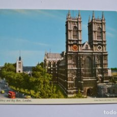 Postales: POSTAL. WESTMINSTER ABBEY AND BIG BEN, LONDON. JOHN HINDE. NO ESCRITA.. Lote 222428642