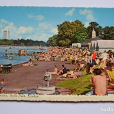 Postales: POSTAL. THE SERPENTINE, HYDE PARK, LONDON. ED. VALENTINE. NO ESCRITA.. Lote 222429022