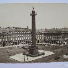 Postales: POSTAL. PARIS. 721. PARIS. PLACE VENDÔME. ED. CHANTAL. CIRCULADA EN 1962.. Lote 222548348