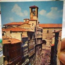 Postales: POSTAL PERUGIA CORSO VANNUCCI E PALAZZO DEI PRIORI S/C. Lote 222555892