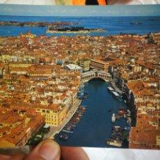 Postales: POSTAL VENEZIA AÉREA DEL CANAL GRANDE S/C. Lote 222557597