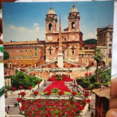 Postales: POSTAL ROMA TRINITA DEI MONTO S/C. Lote 222558613