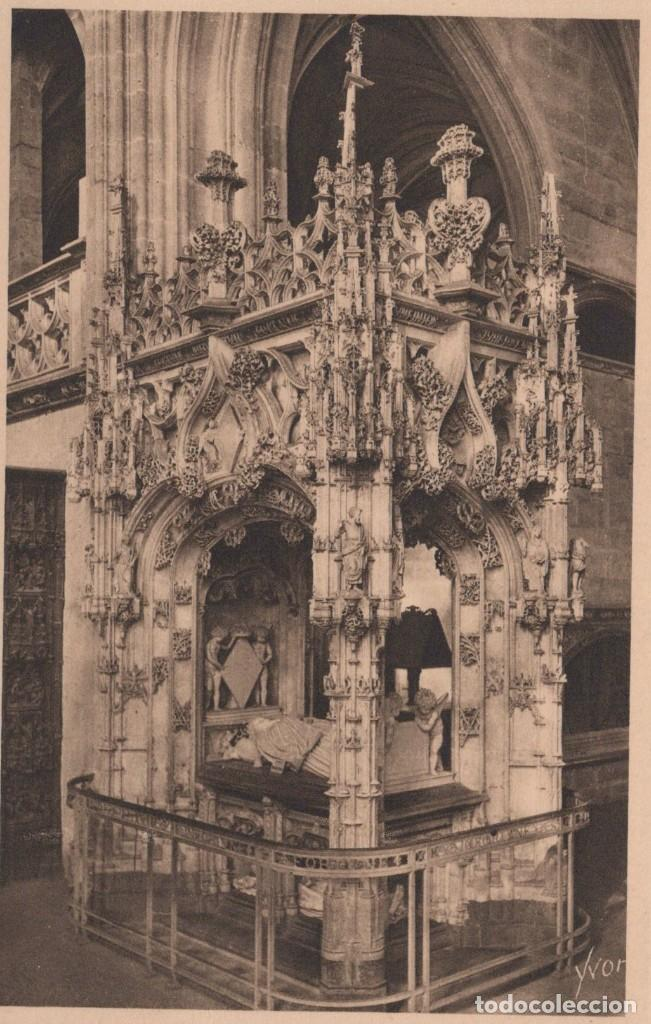 POSTAL BOURG - EGLISE DE BROU - MAUSOLEE DE MARGUERITE D'AUTRICHE - LA DOUCE FRANCE (Postales - Postales Extranjero - Europa)
