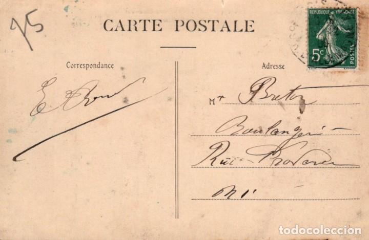 Postales: POSTAL PARIS - BUTTES CHAUMONT - ENTRE LES ROCHERS - CIRCULADA - Foto 2 - 222626495