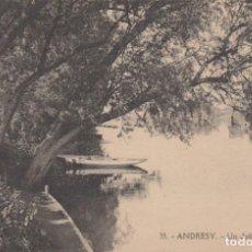 Postales: POSTAL FRANCIA - ANDRESY - UN JOLI COIN DANS I'LLE. Lote 222627583