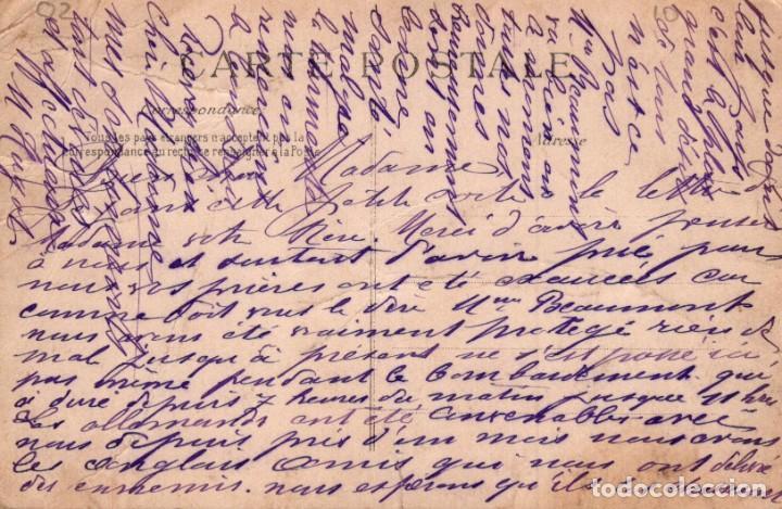Postales: POSTAL FRANCIA - BRAINE - MAISON DE RETRAITE - CHAPELLE - G N - ESCRITA - Foto 2 - 222628302