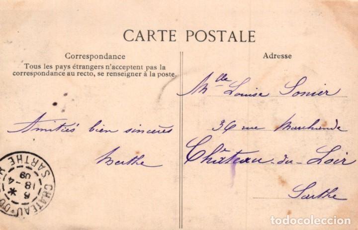 Postales: POSTAL PARIS - LES JARDINS DU TROCADERO ET LA TOUR EIFFEL - CIRCULADA - Foto 2 - 222630061