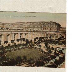 Postales: VERSALLES - L´ ORANGERIE ET LE PALAIS - POSTAL FRANCIA DE LOS AÑOS 1910 - 20. Lote 222790881