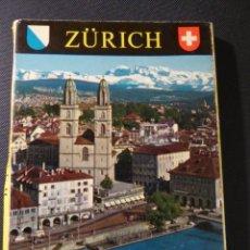 Postales: POSTALES. LOTE 12 FOTOS ZÜRICH (SUIZA). NO CIRCULADAS. Lote 222816633