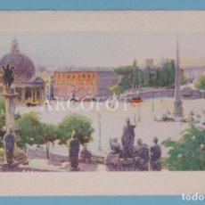 Postales: ANTIGUA POSTAL - ROMA - PIAZZA DEL POPOLO - LA DE LA FOTO. Lote 222829183