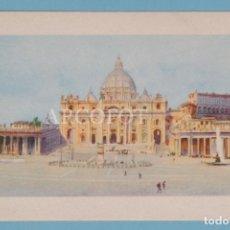 Postales: ANTIGUA POSTAL - ROMA - PIAZZA S. PIETRO - LA DE LA FOTO. Lote 222829297