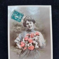 Postales: ANTIGUA POSTAL FRANCESA S.XIX-CIRCULADA ~ OLD FRENCH POSTAL 19TH C CIRCULATED. Lote 26477333