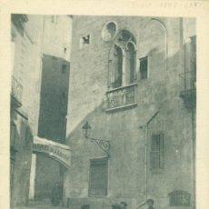 Postais: FRANCIA MONTPELLIER. CENTENARIO REY JAIME I DE ARAGÓN. PALACIO REAL. HACIA 1905.. Lote 224324736