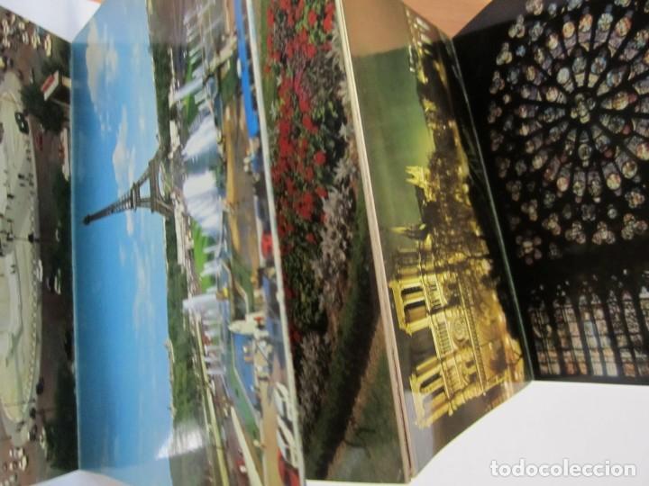 Postales: acordeon 14 postales souvenir de paris lyna - Foto 4 - 224701118