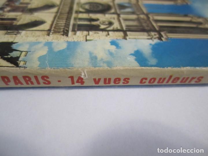 Postales: acordeon 14 postales souvenir de paris lyna - Foto 6 - 224701118