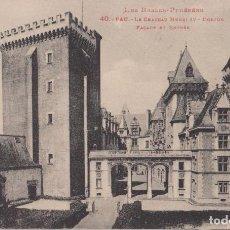 Cartoline: FRANCIA, PAU, EL CASTILLO HENRI IV - ED.LF Nº40 - S/C. Lote 224924070