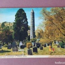 Postales: POSTAL 2/227 JOHN HINDE. ROUND TOWER. GLENDAROUGH. WICKLOW. IRLANDA. ESCRITA SIN CIRCULAR.. Lote 225014000