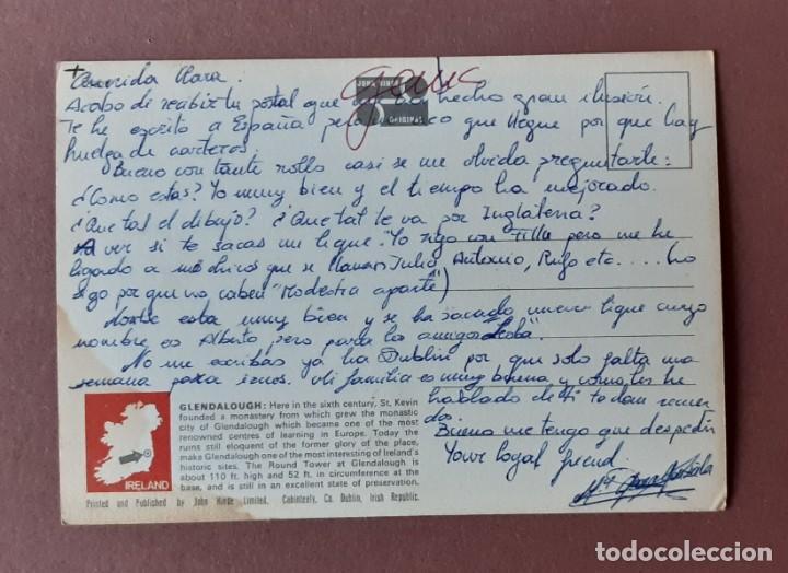 Postales: POSTAL 2/227 JOHN HINDE. ROUND TOWER. GLENDAROUGH. WICKLOW. IRLANDA. ESCRITA SIN CIRCULAR. - Foto 2 - 225014000
