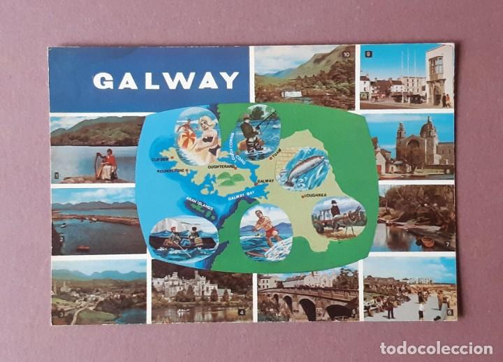 POSTAL LITHO CANADA. NPO FOTOCOLOR. DUBLIN. GALWAY. IRLANDA. SIN CIRCULAR. (Postales - Postales Extranjero - Europa)