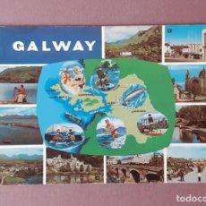 Postales: POSTAL LITHO CANADA. NPO FOTOCOLOR. DUBLIN. GALWAY. IRLANDA. SIN CIRCULAR.. Lote 225016528