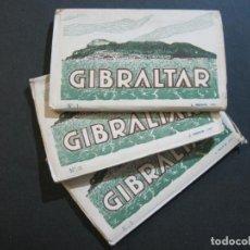 Postales: GIBRALTAR-3 BLOCS CONTENIENDO 30 POSTALES FOTOGRAFICAS-FOTO ROISIN-VER FOTOS-(75.713). Lote 225026990