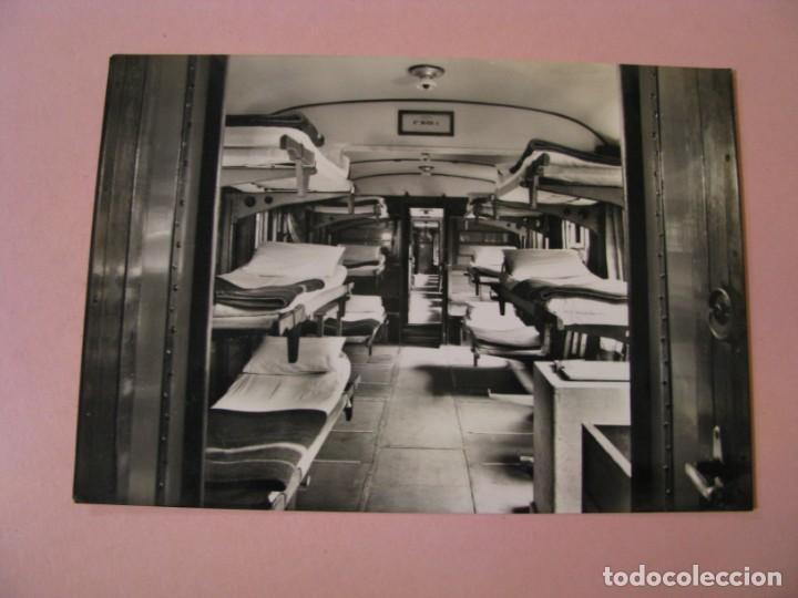 POSTAL FOTOGRÁFICA. LOURDES. TREN PARA LOS ENFERMOS. ED. UNITALSI PIEMONTE. ITALIA. 1955. (Postales - Postales Extranjero - Europa)