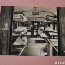 Postales: POSTAL FOTOGRÁFICA. LOURDES. TREN PARA LOS ENFERMOS. ED. UNITALSI PIEMONTE. ITALIA. 1955.. Lote 225188650