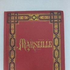 Postales: RECUERDO DE MARSEILLE - 20 FOTOGRAFÍAS DE MARSEILLE - AÑO 1896. Lote 226059130