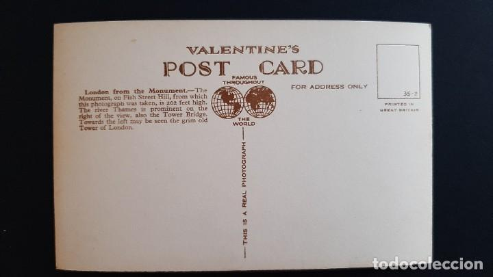 Postales: POSTAL ANTIGUA LONDON ED VALENTINE`S LONDRES LONDON REINO UNIDO UK - Foto 2 - 226118975