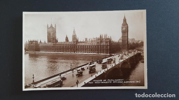 POSTAL ANTIGUA HOUSE OF PARLAMENT ED VALENTINE`S LONDRES LONDON REINO UNIDO UK (Postales - Postales Extranjero - Europa)