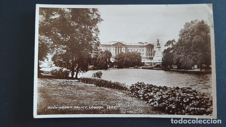 Postales: POSTAL ANTIGUA BUCKINGHAM PALACE ED VALENTINE`S LONDRES LONDON REINO UNIDO UK - Foto 1 - 226121325