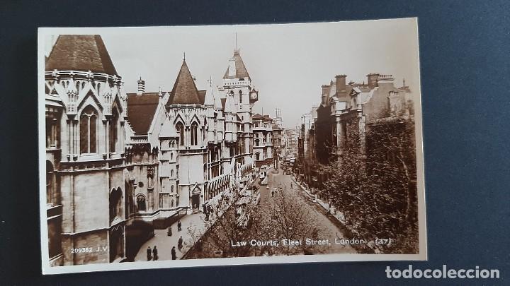 POSTAL ANTIGUA LAW COURTS FLEET STREET ED VALENTINE`S LONDRES LONDON REINO UNIDO UK (Postales - Postales Extranjero - Europa)