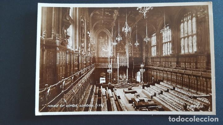 POSTAL ANTIGUA HOUSE OF LORDS ED VALENTINE`S LONDRES LONDON REINO UNIDO UK (Postales - Postales Extranjero - Europa)