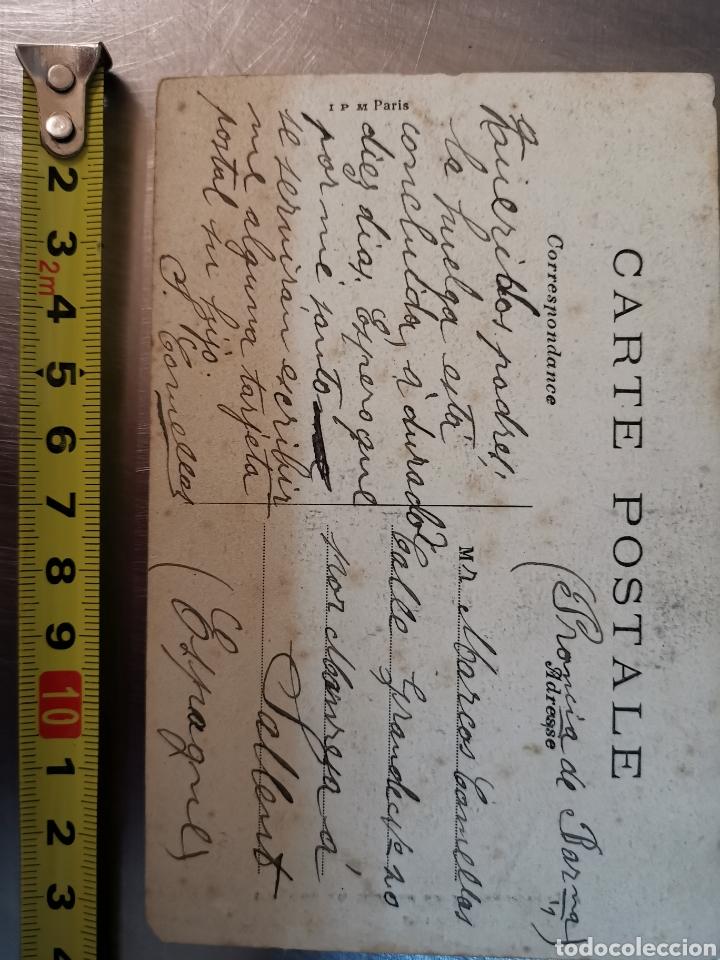 Postales: Postal de París nº274 Jardí des plantes y Musée de Paleonthologie. Sallent. Comellas. 1910s-1920s - Foto 4 - 226124276