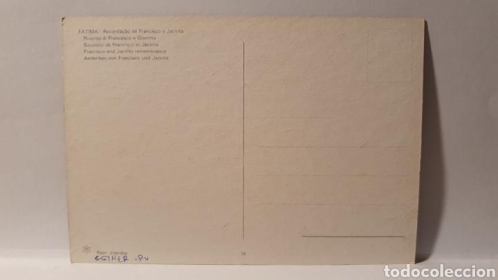 Postales: FATIMA/ FRANCISCO AND JACINTA/ SIN CIRCULAR/ (REF.D.167) - Foto 2 - 226138201
