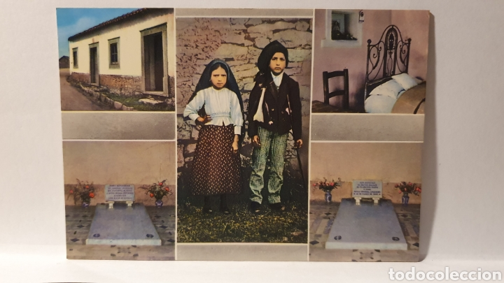 FATIMA/ FRANCISCO AND JACINTA/ SIN CIRCULAR/ (REF.D.167) (Postales - Postales Extranjero - Europa)
