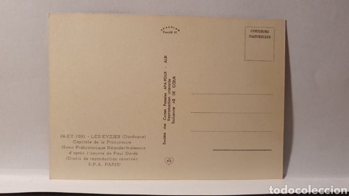 Postales: LES EYSIES / DORDOGME/ CAPITALE DE LA PRÉHISTOIRE/ SIN CIRCULAR/ (REF.D.167) - Foto 2 - 226140855