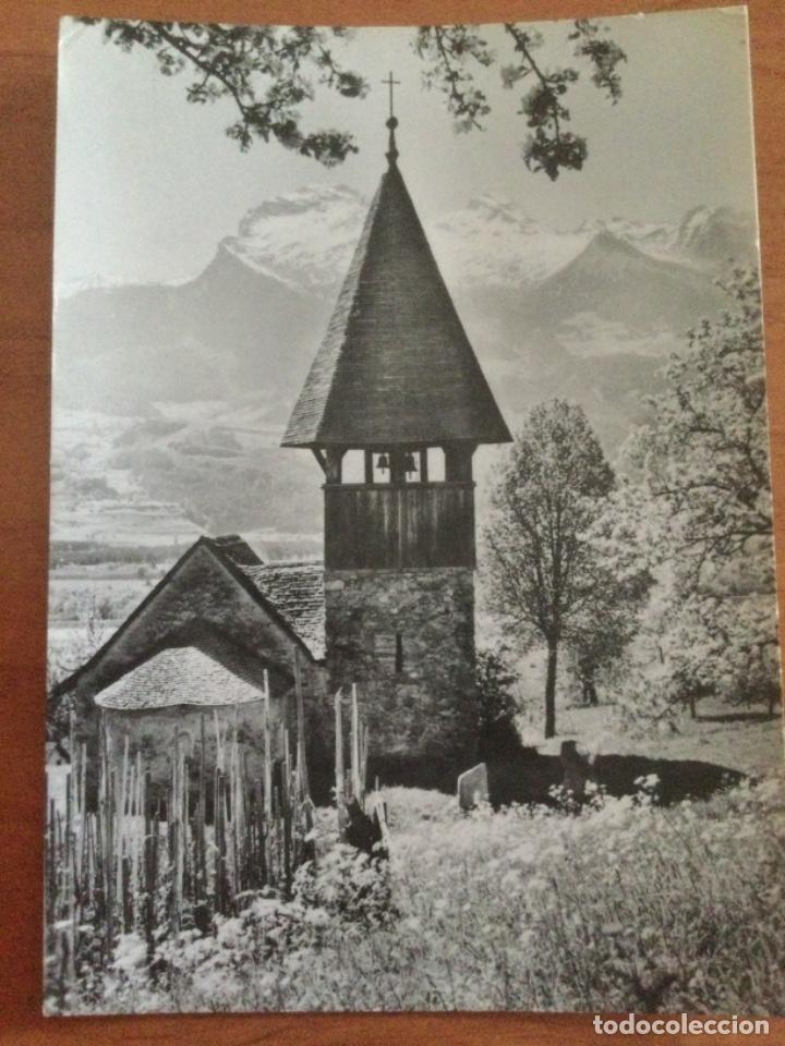 POSTAL CHAPEL ST. MAMERTEN AT TRIESEN. LIECHTENSTEIN. (Postales - Postales Extranjero - Europa)