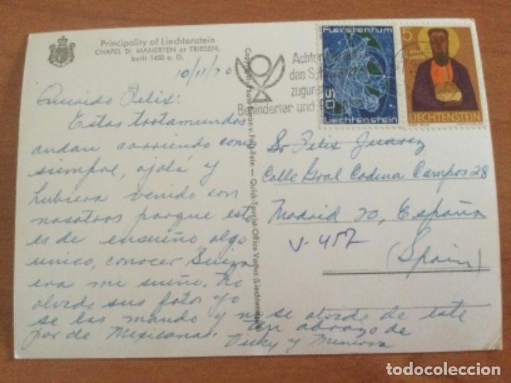 Postales: Postal Chapel St. Mamerten at Triesen. Liechtenstein. - Foto 2 - 228015283