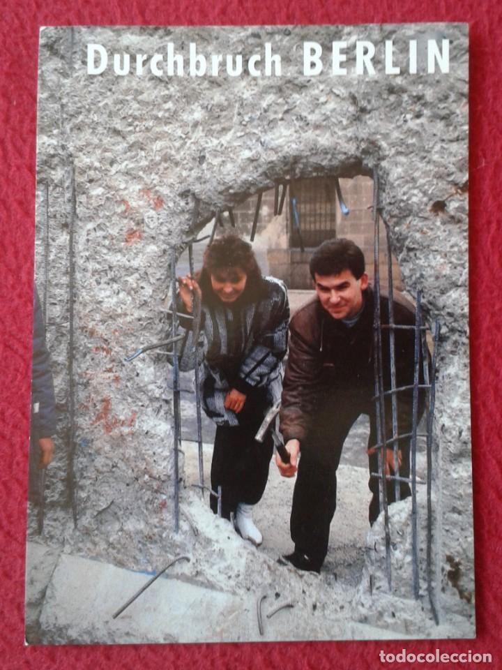 POST CARD CARTE POSTALE ALEMANIA GERMANY EL MURO THE WALL DURCHBRUCH BERLIN MAUER NACH NOV 89 LE MUR (Postales - Postales Extranjero - Europa)
