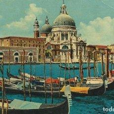 Postales: ITALIA. VENEZIA. VENECIA. BASÍLICA DE LA SALUD. SALUTE. 9X14 CM. CM. BUEN ESTADO. AÑOS 1960.. Lote 228952730