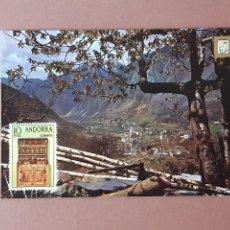 Postales: POSTAL 226 ESCUDO DE ORO. FISA. ANDORRA I LES ESCALDES. VALLS D´ANDORRA. 1974. SIN CIRCULAR.. Lote 230576220