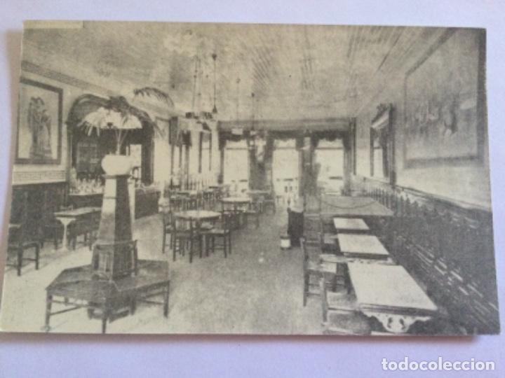 POSTAL CAFÉ CLUB VILA REAL EN 1917 (Postales - Postales Extranjero - Europa)